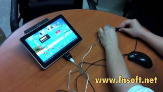 galaxy tab 10.1 + keyboard + mouse