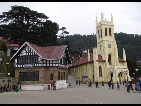 A Tourist in Shimla