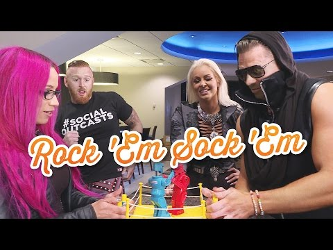 WWE Superstars play Rock 'Em Sock 'Em Robots: WWE Game Night