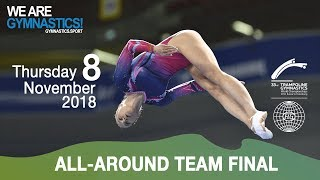 33rd Trampoline Worlds - Day 1 - Team AA Final