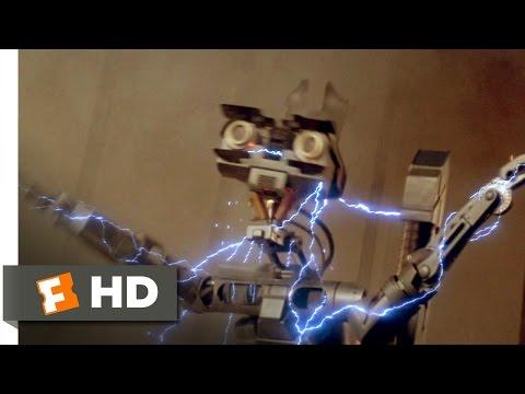 Short Circuit (2/8) Movie CLIP - Struck By Lightning (1986) HD