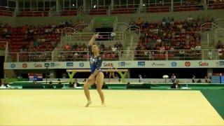 Rio de Janeiro - Test Event: Lara Mori / Corpo Libero (qualifiche)