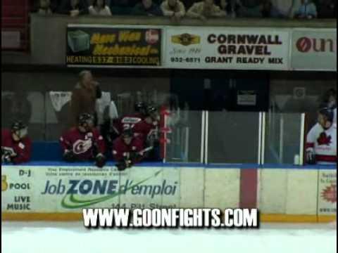 the best hockey senior fight