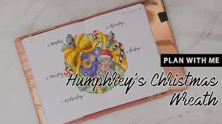 Plan With Me | Bullet Journal - Humphrey's Christmas Wreath