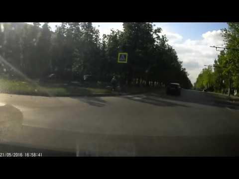 Авария на пешеходном!