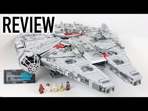 LEGO Star Wars Ultimate Collector's Millennium Falcon Review - Set 10179