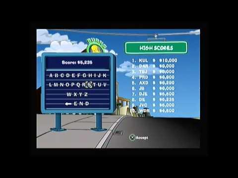 Rage Gameplay Ps3 Simpsons Road Rage Gameplay