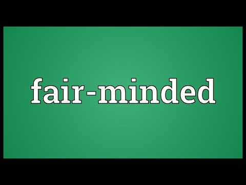Header of fair-minded
