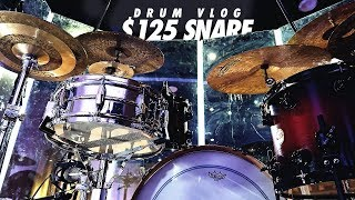 Drum Vlog // $125 Snare & Big Crashes