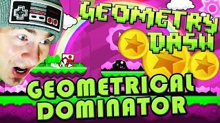 Geometry Dash 2.0 ~ Geometrical Dominator ALL 3 Coins COMPLETE