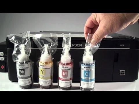 Como Resetear las Tintas L355