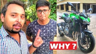 Sold His Benelli 600i for 2018 Kawasaki Z900 || Reasons Explained | Stock Exhaust Note & Walk Around