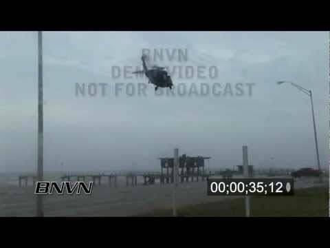 Hurricane Ike Part 8 - Air Rescues and aftermath on Galveston Island, TX