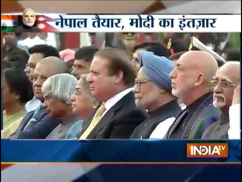 Thousands eagerly waiting in Nepal for PM Narendra Modi