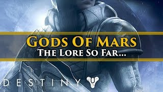 Destiny 2  - Gods of Mars DLC: All the possible lore and story we know so far...