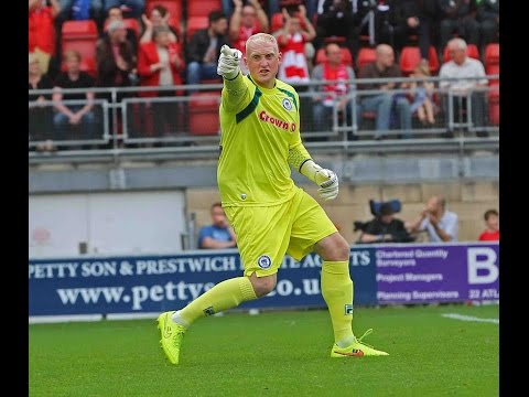 Conrad Logan frustrates Swindon Town with a series of superb saves