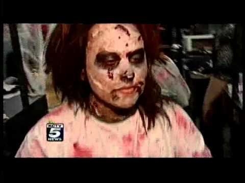 KCTV5 Shows Hot 2011 Halloween Costumes at a Beauty School Fashion Show