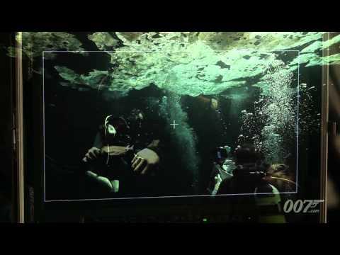 《007:空降危機》深入水中打鬥