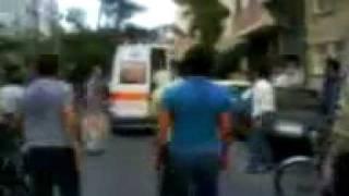 ویدئوی حمل پیکر ندا آقا سلطان توسط آمبولانس رژیم