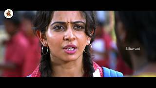 Manchu Manoj Saves Rakul Preet Singh || Amazing Fight Scene || Current Theega Movie Scenes