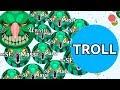PRO TROLLING NOOB IN AGARIO #2 ( Funniest Agar.io Gameplay Ever )