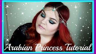Arabian Princess Makeup Tutorial | Lauren Clifford
