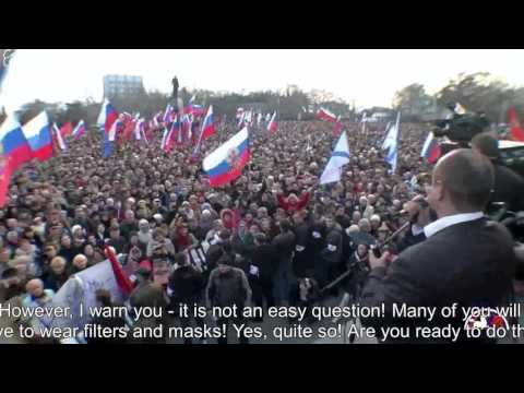 [Eng Subs] Why there's no more Pro-Russian Protests in Ukraine part 1 of 2