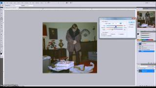 Retouching Old Photos in Adobe Photoshop to Correct for Color Degradation and Negative Damage