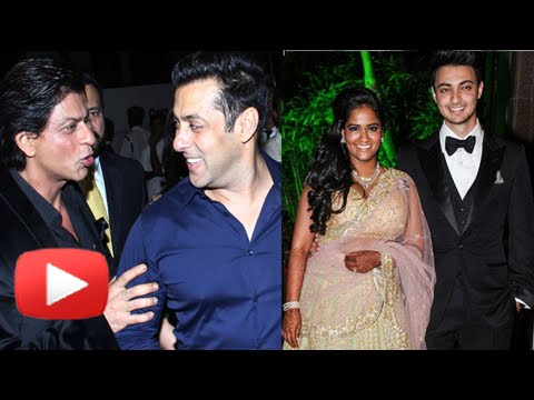 Celebs At Salman Khan Sister Arpita Khan's Wedding Reception Party Part 1