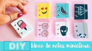 DIY MINI CADERNOS/ DIY MINI NOTEBOOKS parte 1 | Nanny Ribeiro