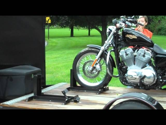 Custom Motocycle Trailer by Loadmaster Trailer Co.