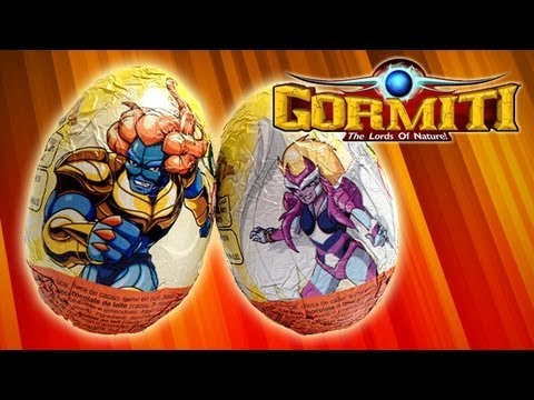 2 Gormiti Surprise Eggs Unwrapping  Surprise Toys Review