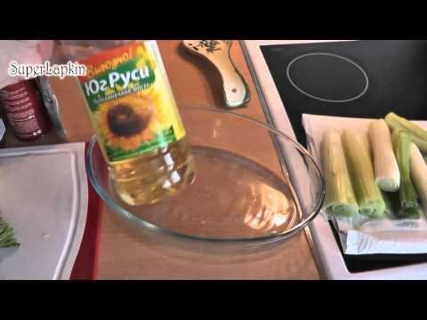 Как готовить лук-порей - видео