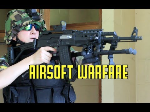Airsoft War Urban Warfare