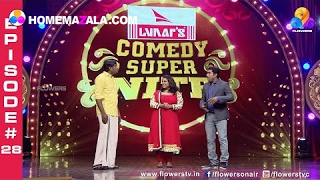 Comedy Super Nite With Actress Ranjini - June1 Full Episode #28