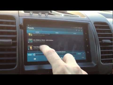 My android car stereo using a tablet