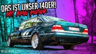 Stern Garage - Wo ist nur der Heckschaden hin? | Mercedes Benz W140 S420 E50 AMG
