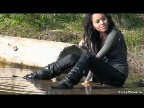 Karina in great wetlook