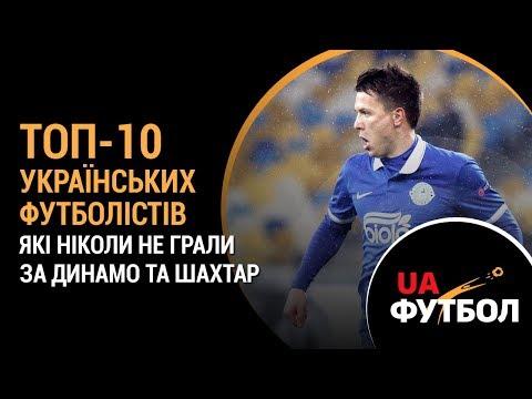 ТОП-10 українських ФУТБОЛІСТІВ, які ніколи не грали за ДИНАМО та ШАХТАР