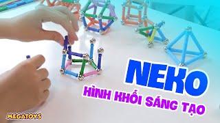 Neko - Đồ chơi xếp hình nam châm phát triển trí tuệ
