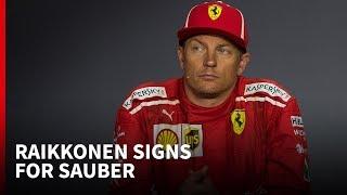 What Raikkonen's Sauber move tells us about him