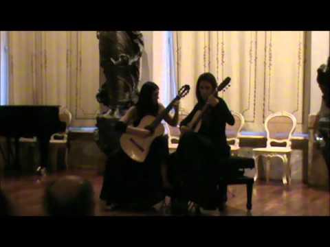 FANDANGO (Sonatina Canonica) MC Tedesco - DUO Ida Presti - Alessandra LUISI Giusi MARANGI.wmv