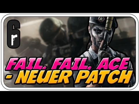 ZWISCHEN FAIL UND ACE - NEUER PATCH! - ♠ RAINBOW SIX SIEGE: RED CROW ♠ - Let's Play RBSS - Dhalucard