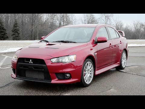 2013 Mitsubishi Lancer Evolution GSR - WINDING ROAD POV Test Drive