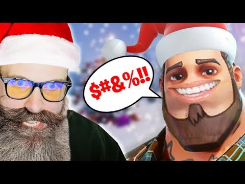 FORTNITE VOICE CHAT: NAUGHTY OR NICE? • Fortnite Winter Update (Funny Moments)