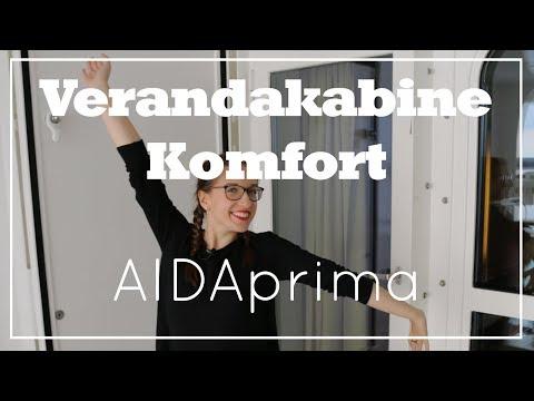 AIDAprima - Veranda Komfortkabine (Deck 5) - AIDA