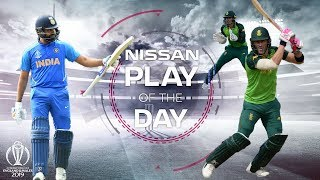 Nissan Play of the Day | India vs Sri Lanka & Australia vs South Africa | ICC Cricket World Cup 2019