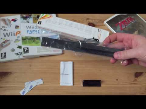 Unboxing & Demo   Mayflash W010 Dolphin Bar: Wireless Wii Remote Sensor for PC USB