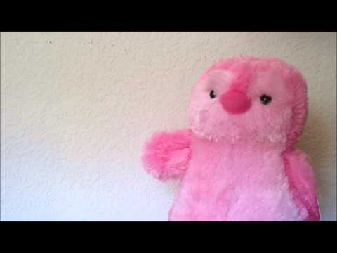 Penny the Pink Penguin Flips the Bird