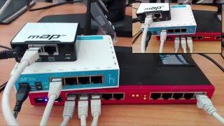 CAPsMAN v2 (MikroTik Wireless Controller) - Lab Demonstration